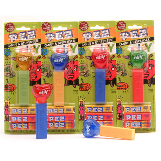 eBay Hearts PEZ Dispenser