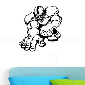 Football Player 04Graphic Wall Decal Sticker