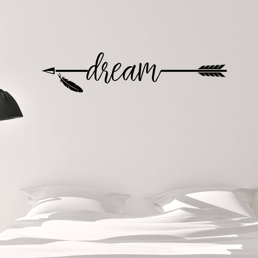 Dream Arrow Vinyl Wall Decal