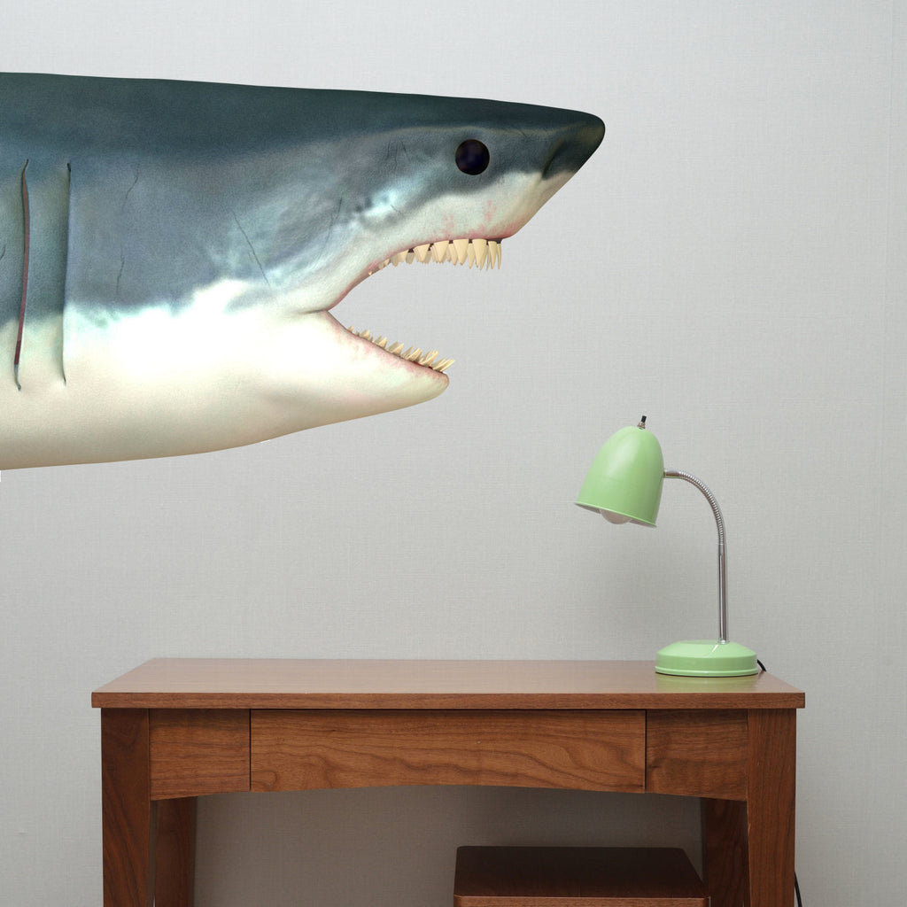 Shark Head Fabric Wall Decal