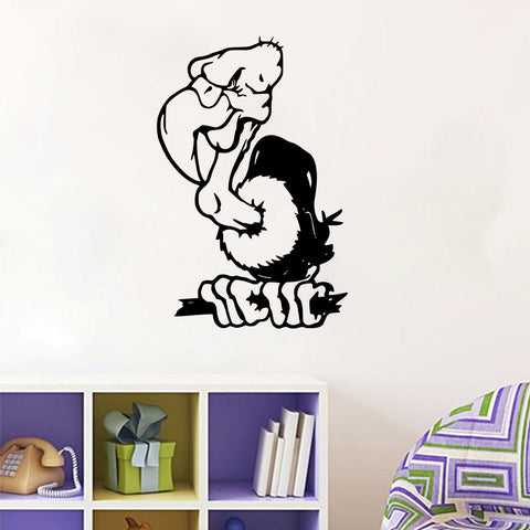 Buzzard Vinyl Wall Decal