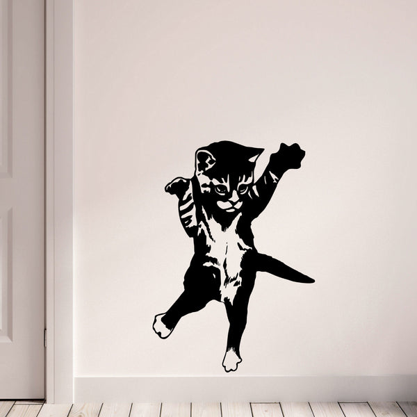 Attack Kitten Wall Decal