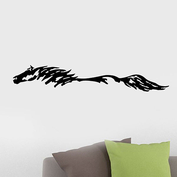 Abstract Horse Vinyl Wall Decal Sticker