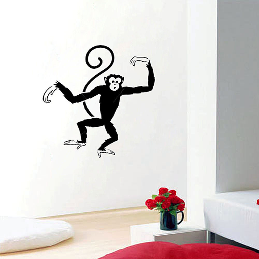 Monkey Around Vinyl Wall Decal