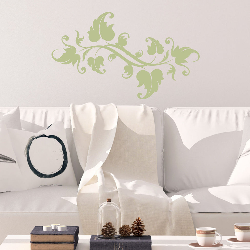 Leaves on a Vine Wall Decal