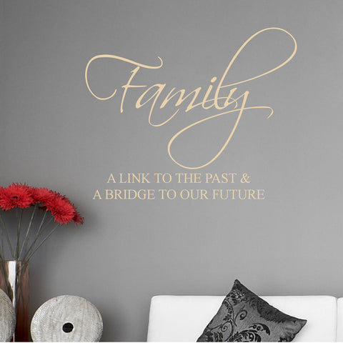 Family, a Link to the Past Wall Decal Sticker