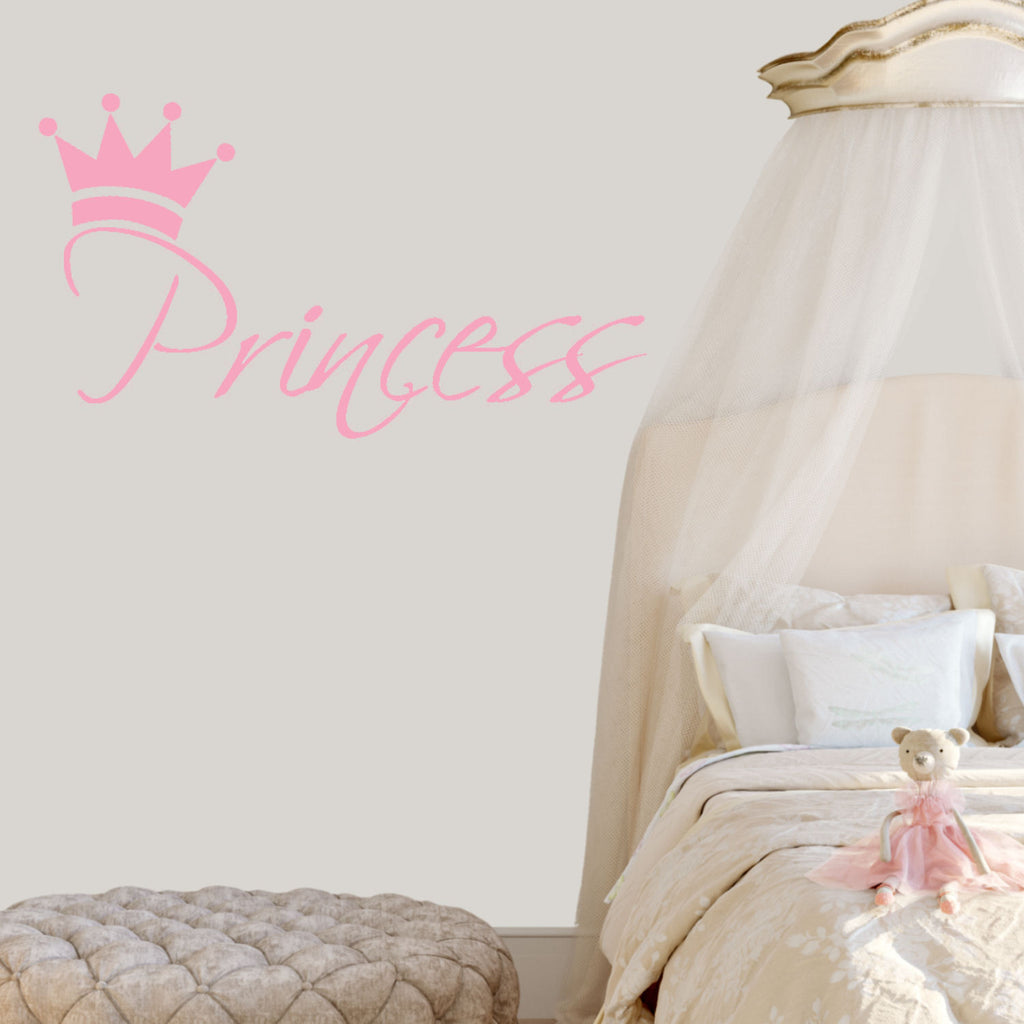 Princess Wall Decal Graphic