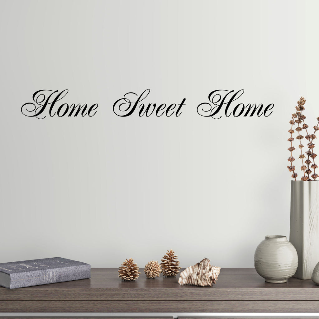Home Sweet Home Wall Decal Graphic