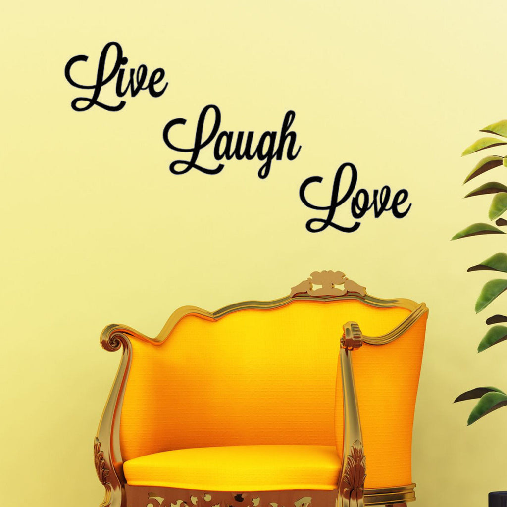 Live, Love, Laugh Wall Decal Graphic