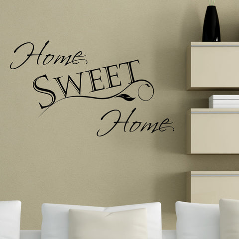 Home Sweet Home Wall Decal