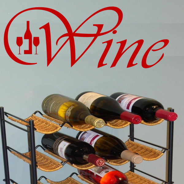 Wine Graphic Wall Decal