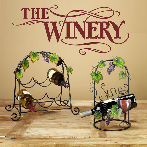 The Winery Wall Decal Graphic Sticker