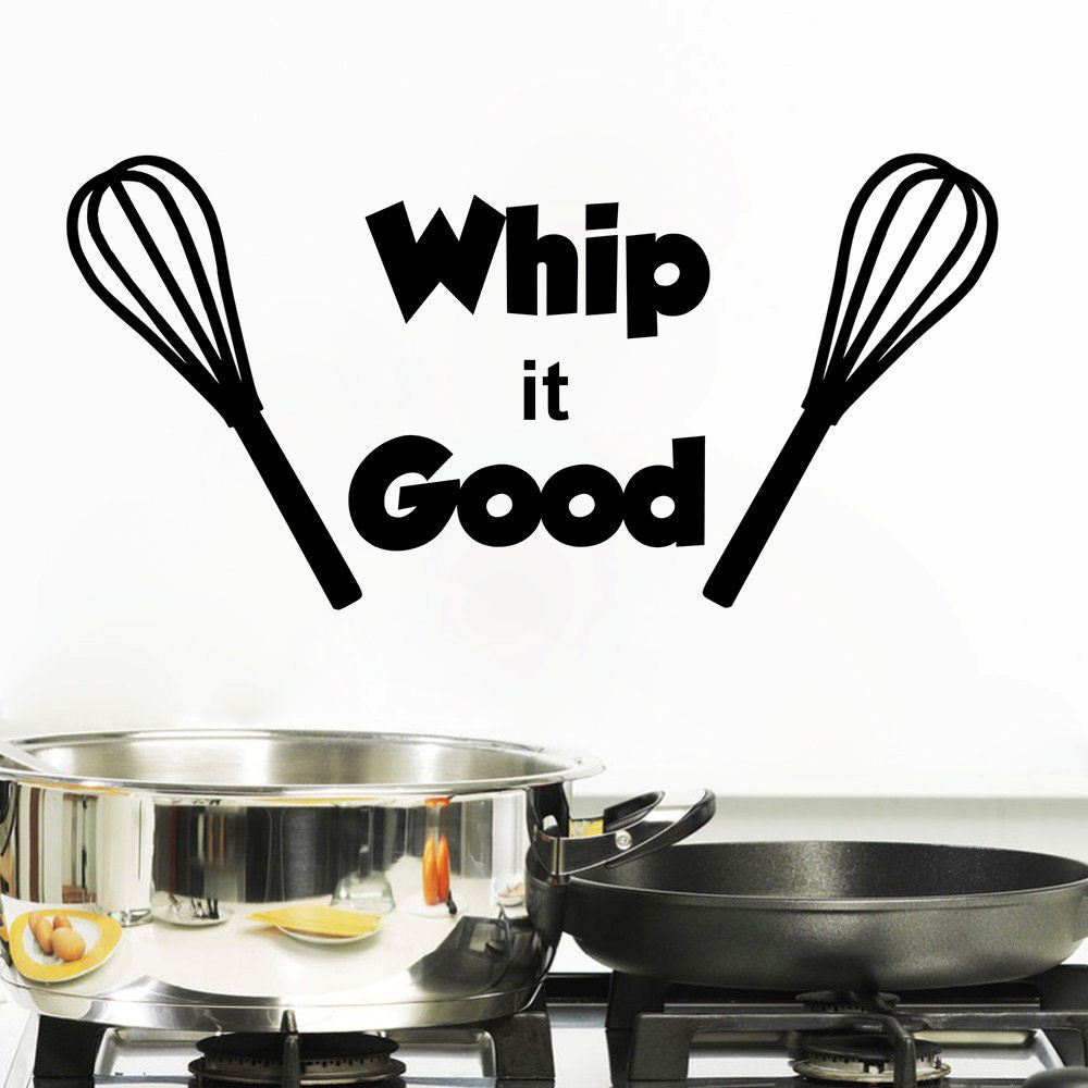 Whip it Good Vinyl Wall Decal