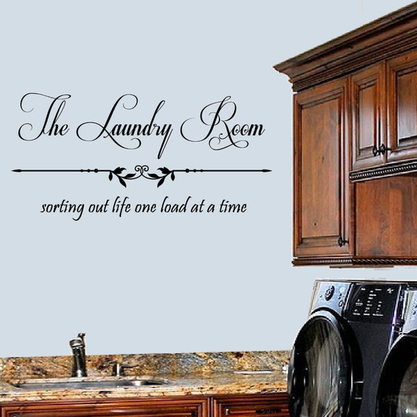 The Laundry Room Sorting Out Life Wall Decal Sticker