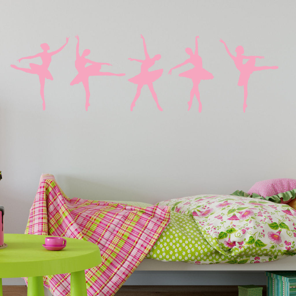 Ballerina Dancers Wall Decal