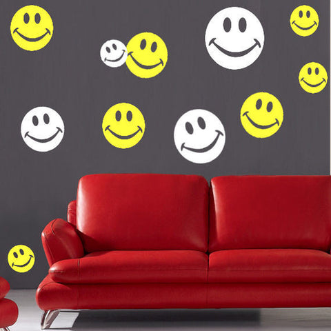 Smiley Faces 60 Piece Set 2 Color