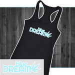 Blue Dream Women's Racerback Tank - Mind . Body . Spirit . Mana - Cannabis Marijuana Lifestyle Women's Clothing
