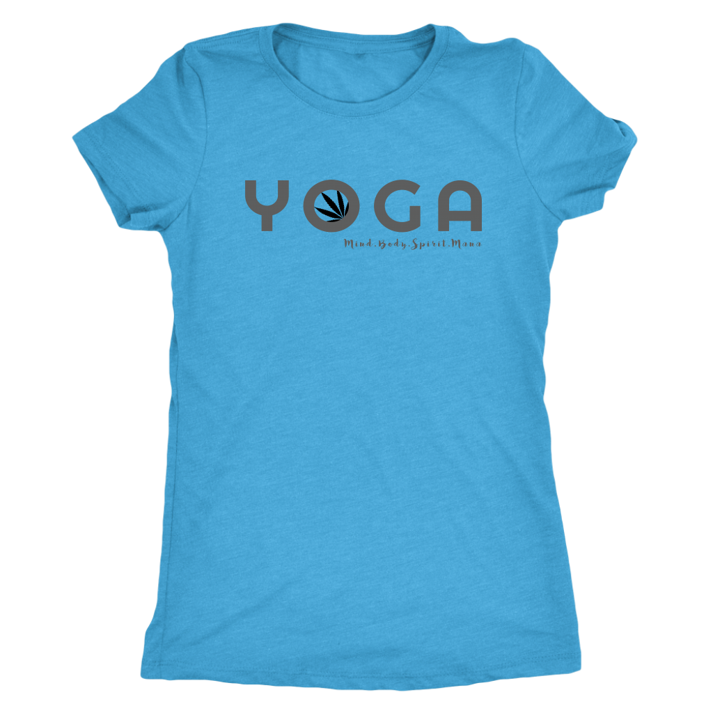 Yoga and Cannabis Triblend Tee
