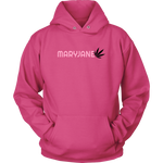 Maryjane Discreet Cannabis Black & Pink Logo Hoodie - Mind . Body . Spirit . Mana - Cannabis Marijuana Lifestyle Women's Clothing
