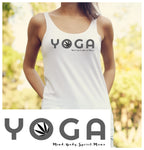 Yoga and Cannabis Racerback Tank