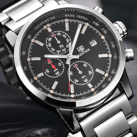 Benyar Chronograph Sport Watch, Dress Watches, Mens Dress Watches from watchalternative.com