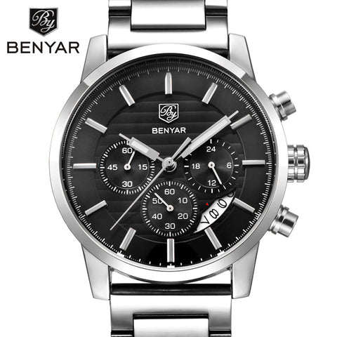 BENYAR Chronograph Sport Watch from watchalternative.com - Free Shipping.