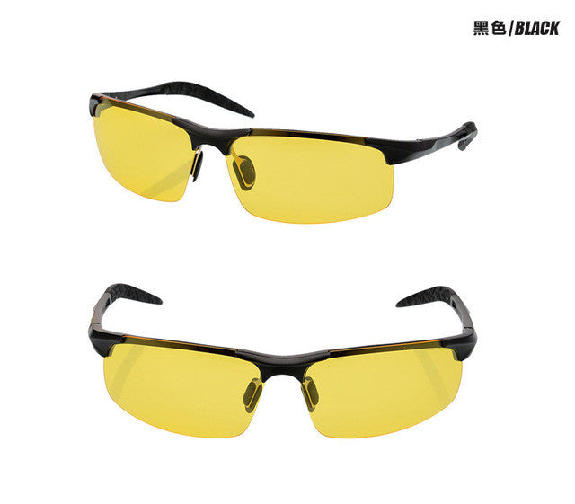 Men's Day and Night Vision Sunglasses, Anti-Glare Sunglasses, Anti-Glare Sunglasses for Men, Men's Anti-Glare Sunglasses