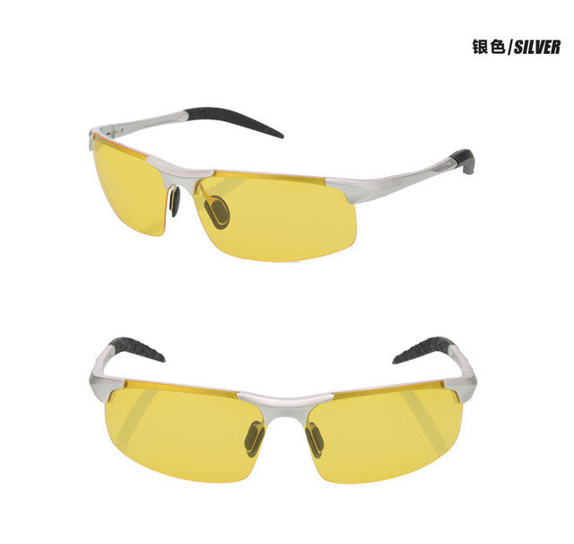 Day and Night Vision Polarized Sunglasses for Men with Anti-Glare, Anti Glare Sunglasses, Anti-Glare Polarized Sunglasses