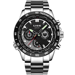 LIGE Sport Watch Men Luxury Brand