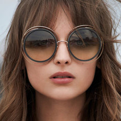Carlina Sunglasses, Designer Sunglasses, Women's Round Sunglasses, Ladies Polarized Sunglasses, Fashion Sunglasses