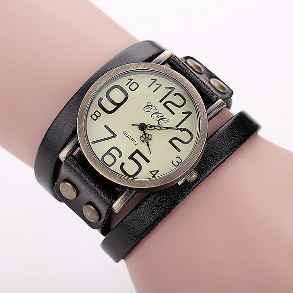 Watch Bracelet, Leather Bracelet Watch, Watch Bracelet for Ladies, Bracelet Watch for Girls from watchalternative.com