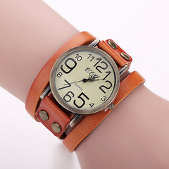 Fashion Bracelets,  Jewelry Gifts, Jewelry for Girls, Genuine Leather Wristwatch, Wristwatch for Ladies