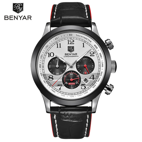 BENYAR Chronograph Sport Men's Watch, Waterproof Men's Watch, Chronograph Watches, Mens Dress Watches from from watchalternative.com