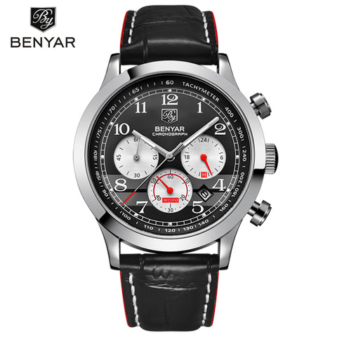 BENYAR Chronograph Sport Men's Watch, Chronograph Watches, Mens Watches from watchalternative.com