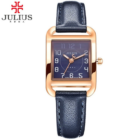JULIUS Women Rectangle Clock