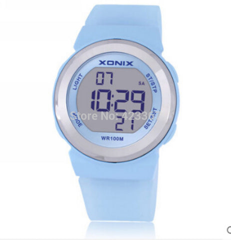XONIX  Swimming Diver Watch Girl Outdoor Watch