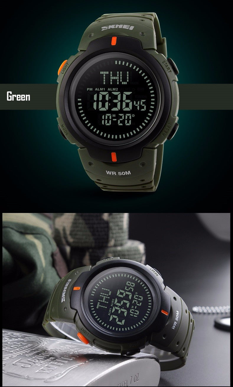 Compass Water Proof Watch