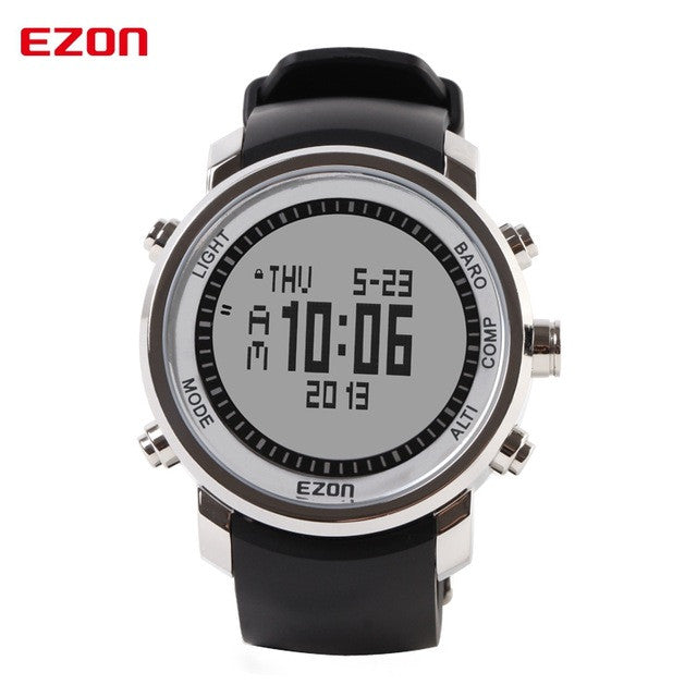 Digital Watches, Women's Digital Watch, Watch with LED Display, Watch with Thermometer Function, Watch with Barometer Function, Watch with Compass, Compass Watch, Electronic Compass Watch, Electronic Compass Watch for Men, Intelligent Watch