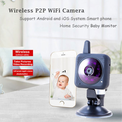 BABY MONITOR - 360 degree rotating Wifi Camera Baby Monitor, Wifi Camera for Baby Monitoring, Baby Monitoring Camera, Wireless P2P Wifi Camera