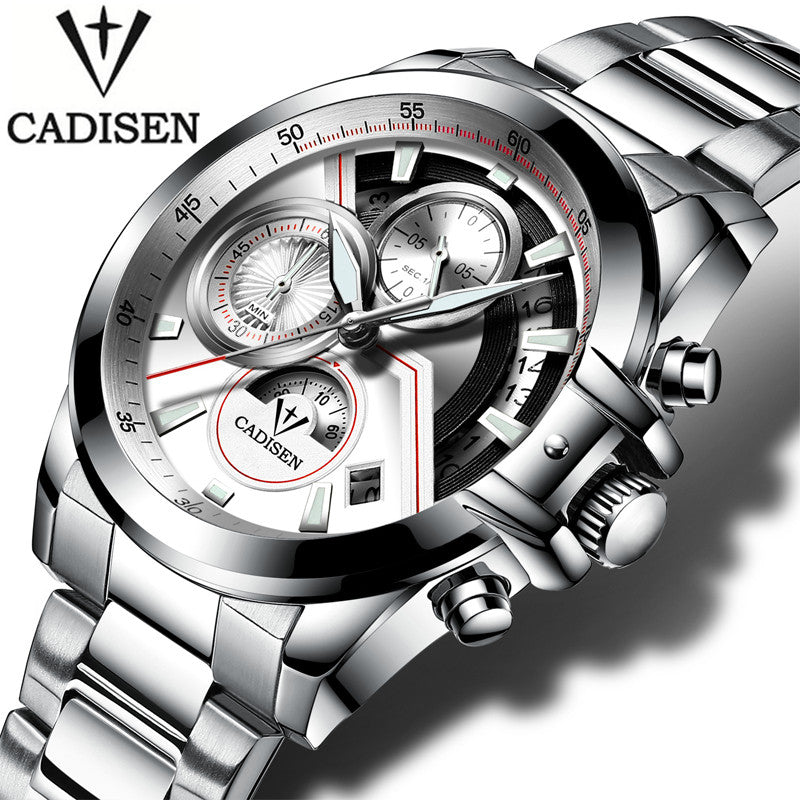 Chronograph Watches for Men and Women, Cadisen Chronograph Watch, Watches for Men