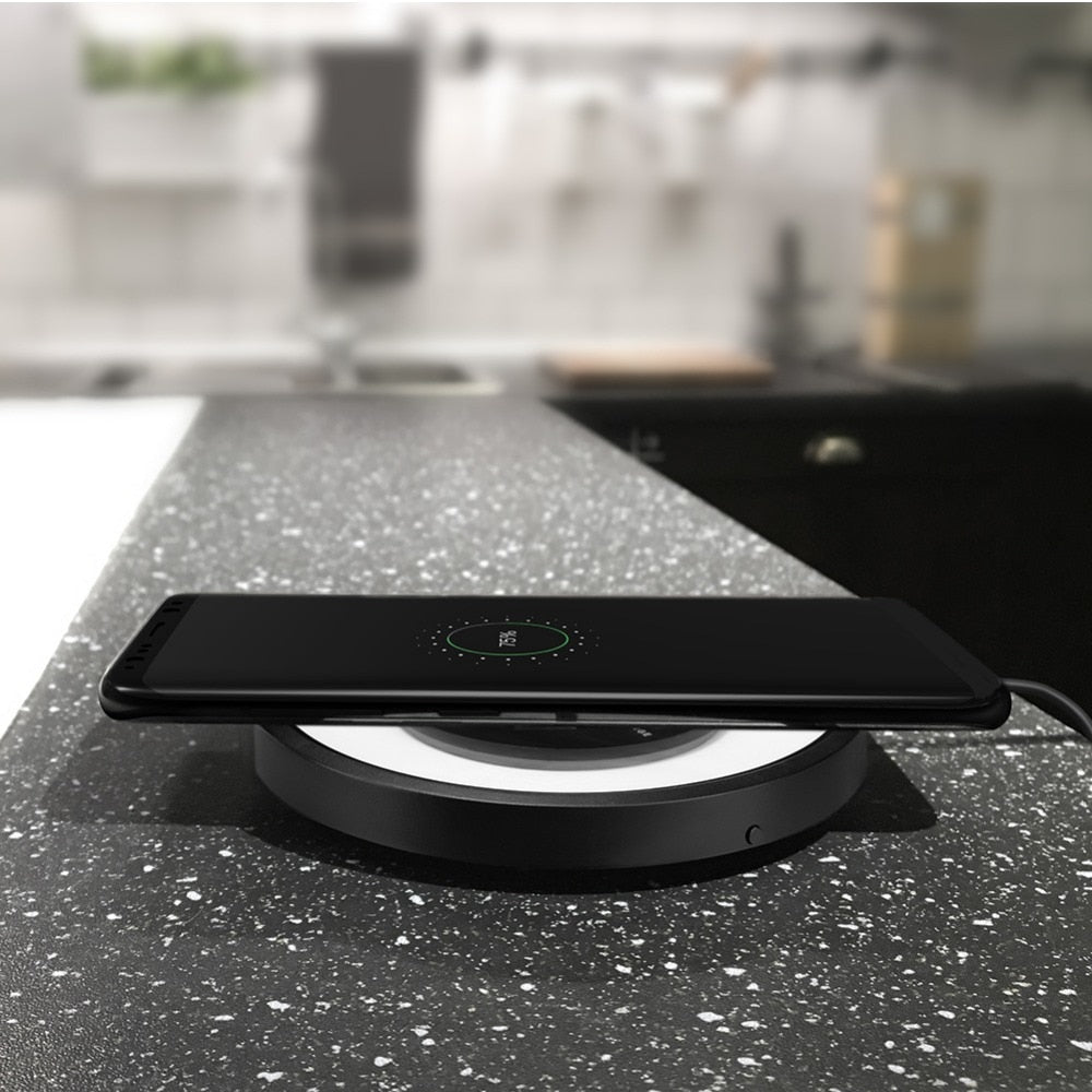 Super Fast Wireless Charging Pad -Magic Disk 4 for Samsung and Other Major Mobile Brand Names