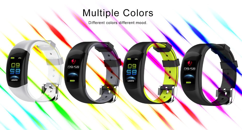 Smart Watch with Sleep Tracker, Digital Watch for Men and Women, Sport Watch with LED Display, Digital Heart Rate Monitor Watch, Digital Heart Rate Monitor Smart Watch