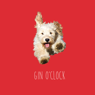 Gin o'clock (Cockerpoo)