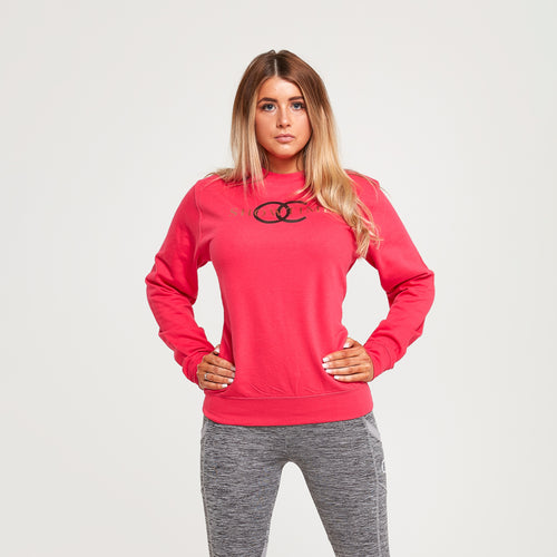 Showtime crewneck sweater (pink)