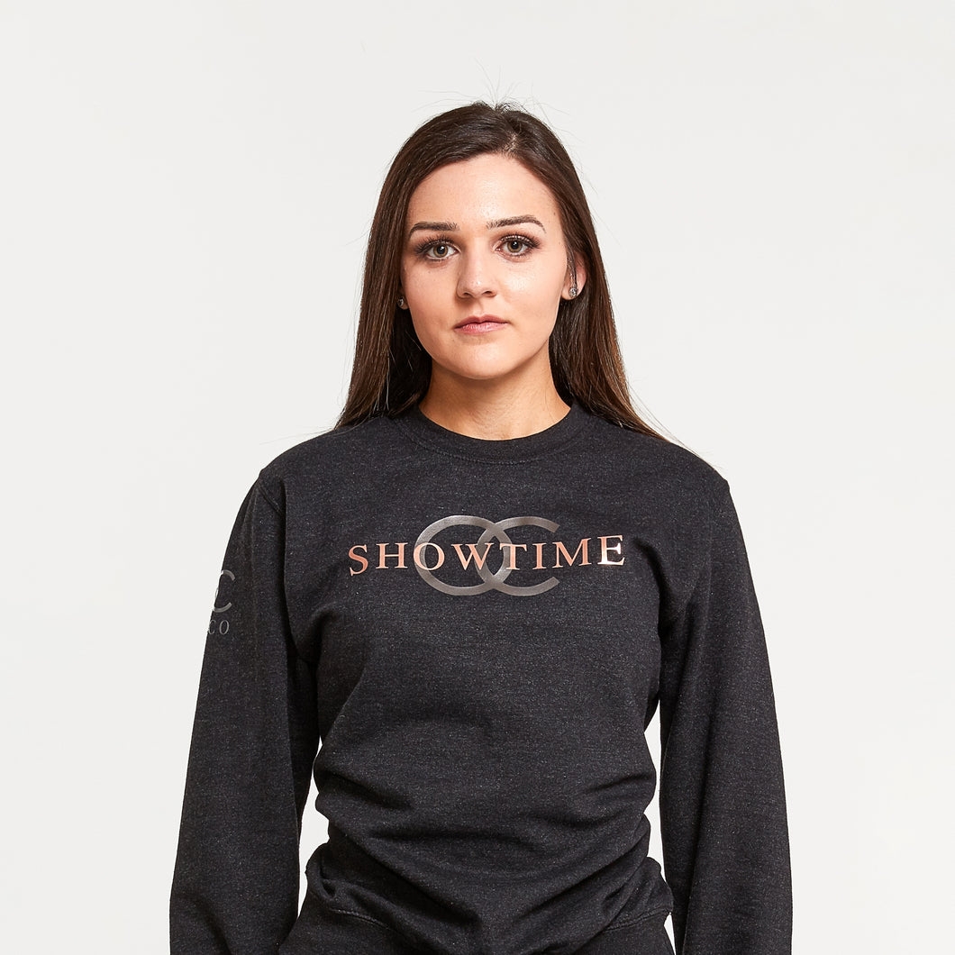 Showtime crewneck sweatshirt (black)