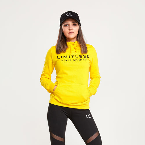 LIMITLESS hoodie (yellow)