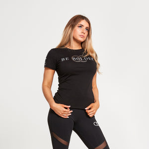 Be bolder t-shirt (black)