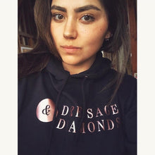 Load image into Gallery viewer, Dressage and diamonds hoodie