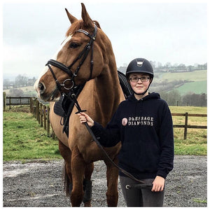Dressage and diamonds hoodie