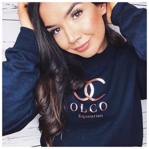 OLCO sweater (size small in navy)